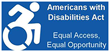 Americans with Disabilities Act logo